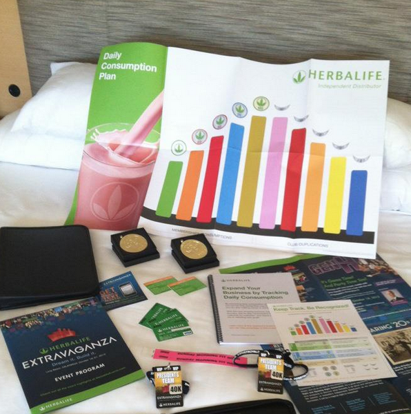 Herbalife Loves Club 100