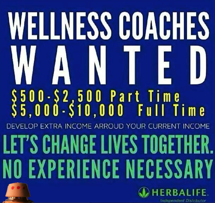 Herbalife-Wanted