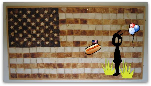 toast flag