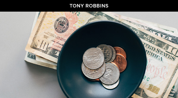 tony robbins pocket change
