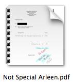 Arleen is Guilty