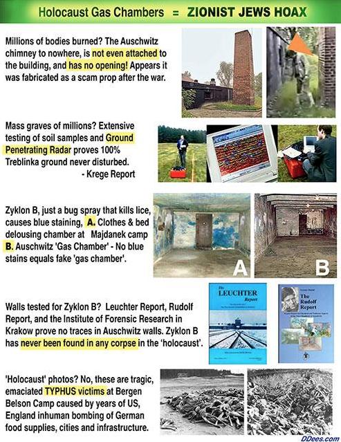 Coldwell Holocaust Hoax