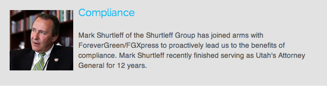ForeverGreen Mark Shurtleff