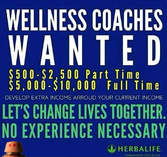 Herbalife-Wanted