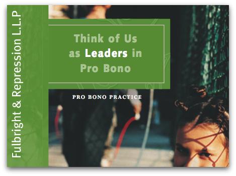 Pro Bono Leaders?