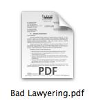 Bad Lawyering